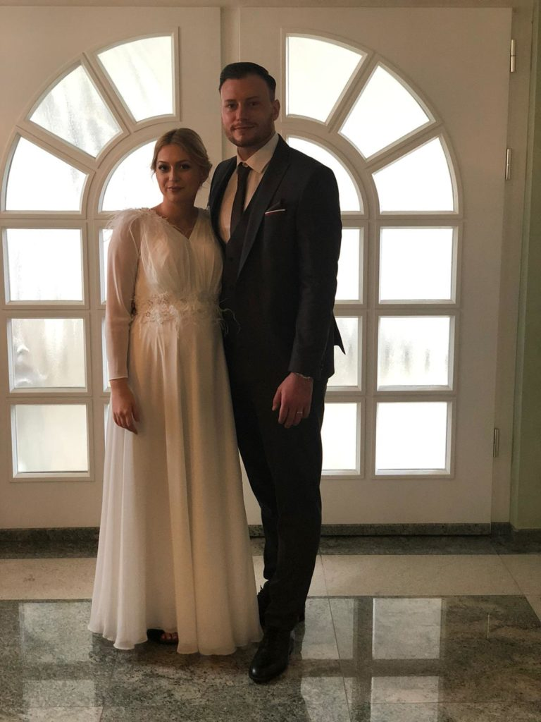 Daniel Mundinger hat geheiratet